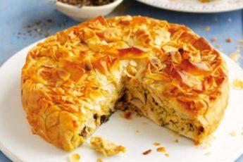 Невозможно устоять! Бесподобный заливной мясной пирог всего за 15 минут.