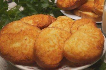 Быстрая находка, когда нет времени для готовки! Ленивчики из картофеля.