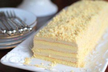 Торт «Славянка» с невероятно вкусным кремом. Тортик имеет головокружительный успех!