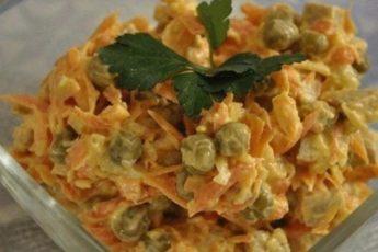 Очень нежный и сытный салат «Купеческий» — это просто сказка!